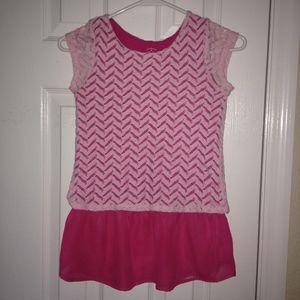 Children's pink top